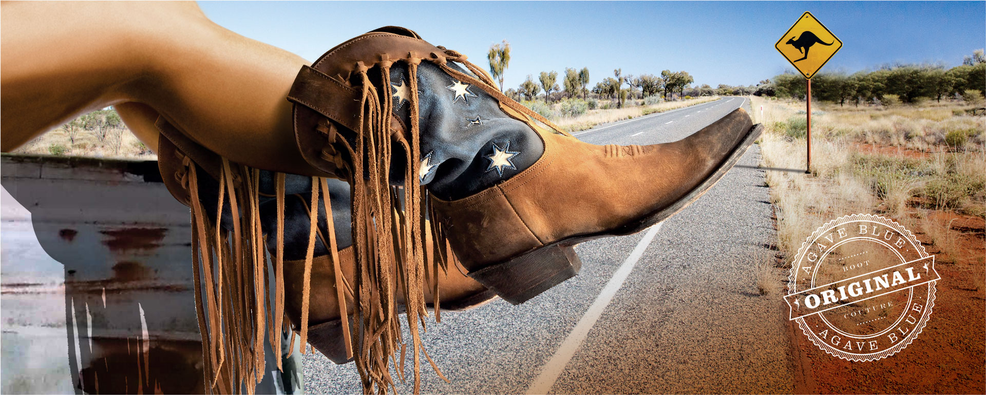 Southern Pride boots by Agave Blue Promo
